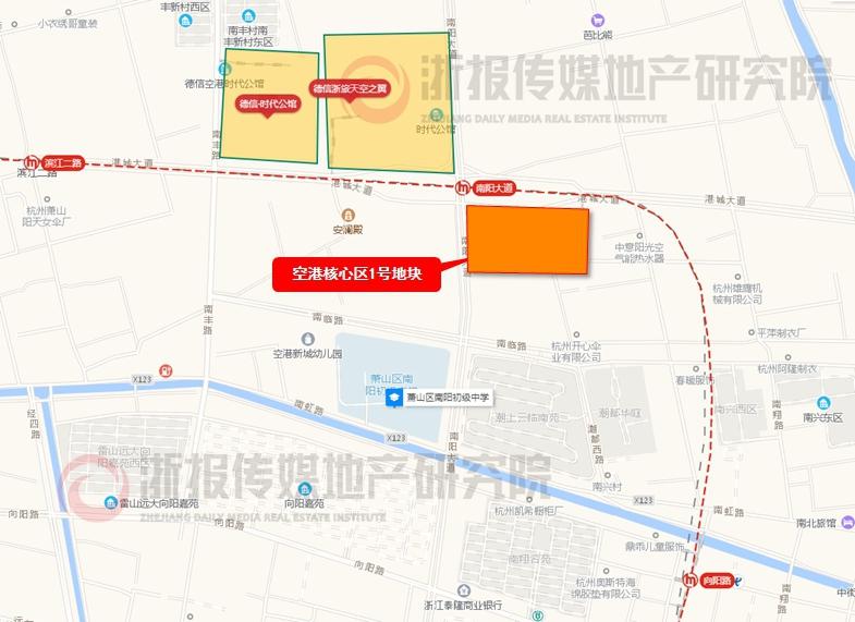 空港核心区1号地块(萧政储出(2019)25号)出让