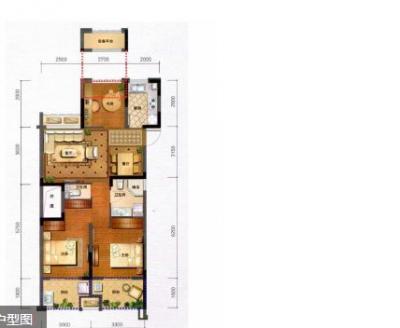 宋都丽郡国际 15楼 89平 新空房 带车位 200万