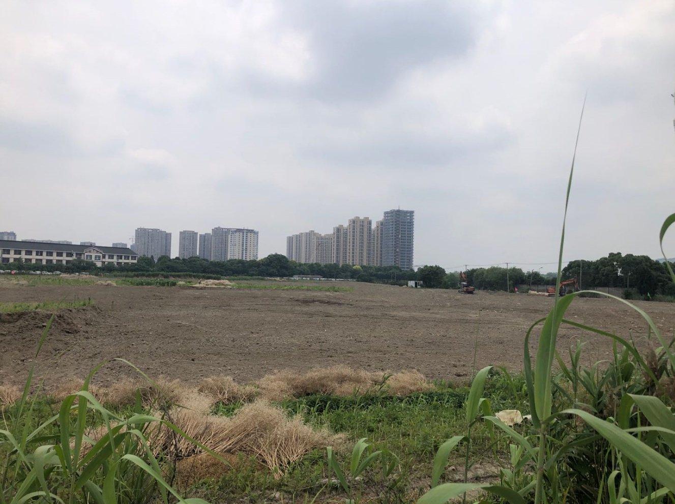 鲜有动静的河庄新出一宗63亩宅地,河庄街道北一路南住宅地块