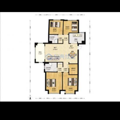 奥特莱斯君悦大4房,132方只要188万