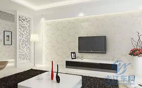 木工石膏板电视墙中式-简单大方的客厅电视背景墙怎么做