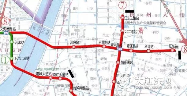 杭州地铁三期最快10月获批,将给大江东带来哪些收益