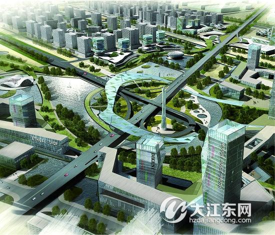 想知道未来生活是什么样子的 未来规划提前知晓,大江东规划展示馆走