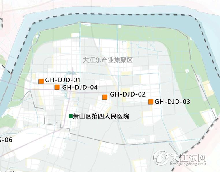 大江东有4块规划预留综合医院用地 杭州市区医疗卫生设施布局规划