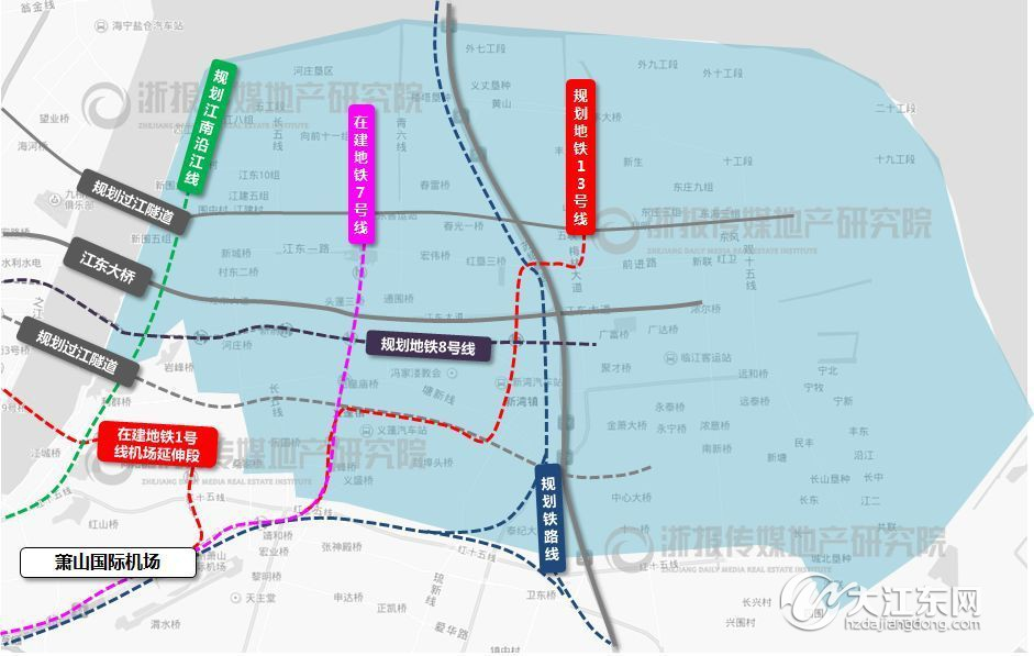 地也罢,看懂大江东这座新城,就能跟上杭州节奏