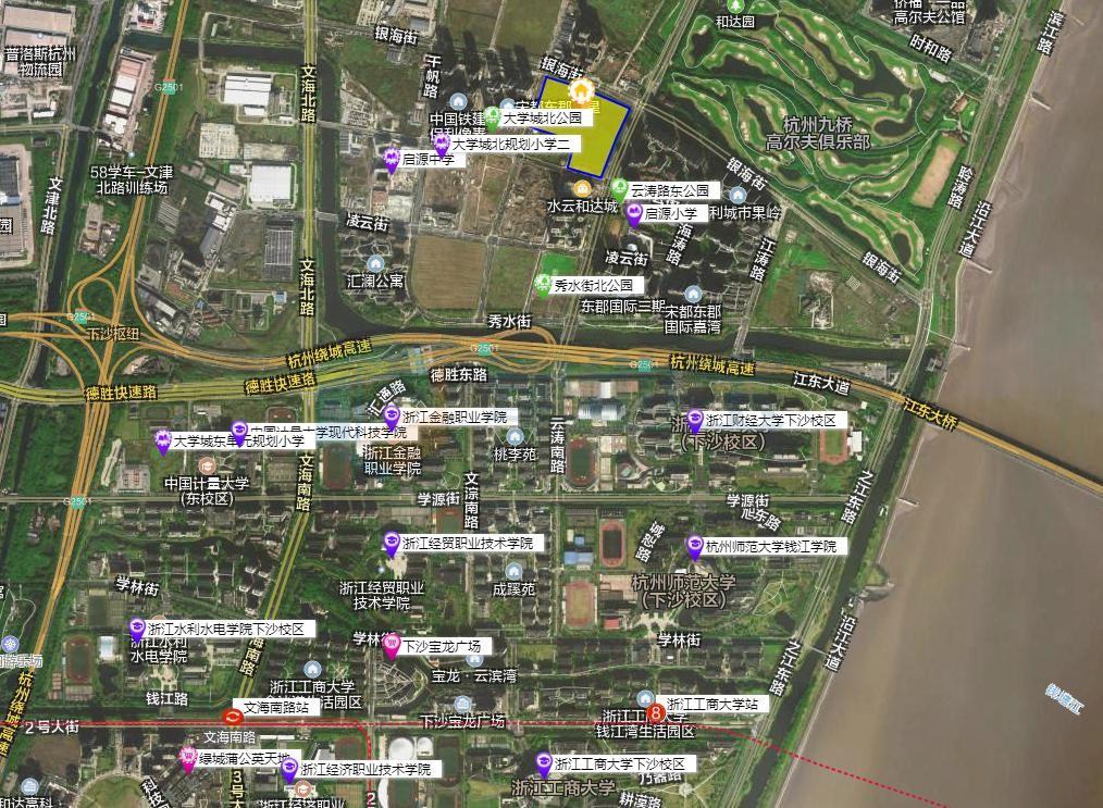 下沙大学城北119亩宅地指标调整,容积率降至2.6,高度降至80米!