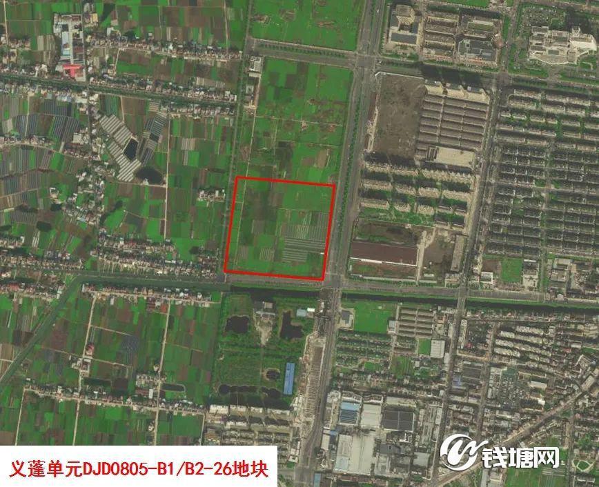 又一个地铁口约20万㎡商业体来了!义蓬核心板块,一宗133.5亩商业地块下周出