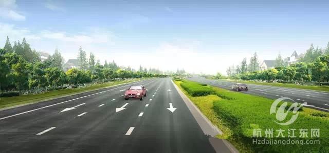 2015大江东计划建这八条路 图