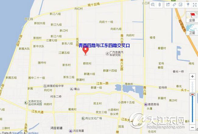 青岛科三惜福镇场地图