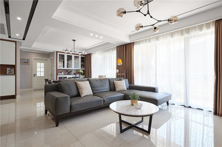 以少胜多,纷扰止于内心----金色家园140方现代简约风格舒适居家