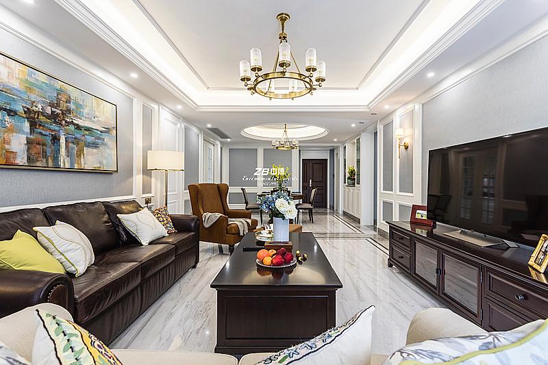 一厢思绪承载家的味道----翡翠城180方简约美式风格舒适居家
