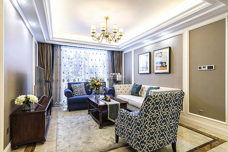 120方现代美式风把惬意刻进阳光的居家装饰